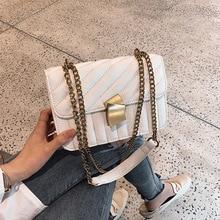все цены на Fashion Small Flap Crossbody Shoulder Bags Women handbags Thread chain Ladies Messenger totes Female Purses cluthes High Quality онлайн