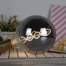 Retro lâmpadas e27 vintage led 220v 4w g80 g95 t28 t32 a110 g125 st64 pode ser escurecido edison lâmpada iluminação decorativa para casa