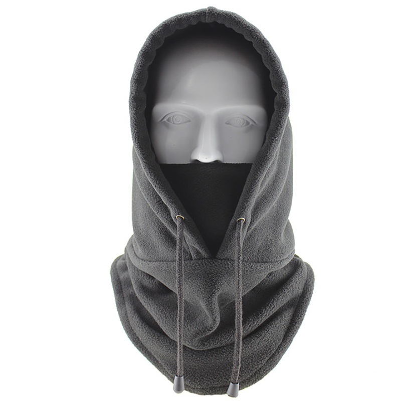 Winter Windproof Hiking Caps,Men Warm Thermal Fleece Balaclava Face Beanies,Ski Bike Motorcycle Neck Warmer Helmet Hat