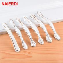 Naierdi белые ручки для шкафа из алюминиевого сплава европейские