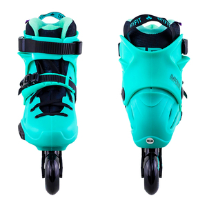 Image 5 - 100% Original 2018 Powerslide Imperial Inline Skates 전문 슬라럼 인라인 스케이트 롤러 무료 스케이트 신발 슬라이딩 Patines