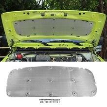 Aluminiun Foil Car Engine Heat Sound Noise Insulation Absorb Padding Shield For Suzuki Jimny 2019 2020 Hood Pad Dampening Mat
