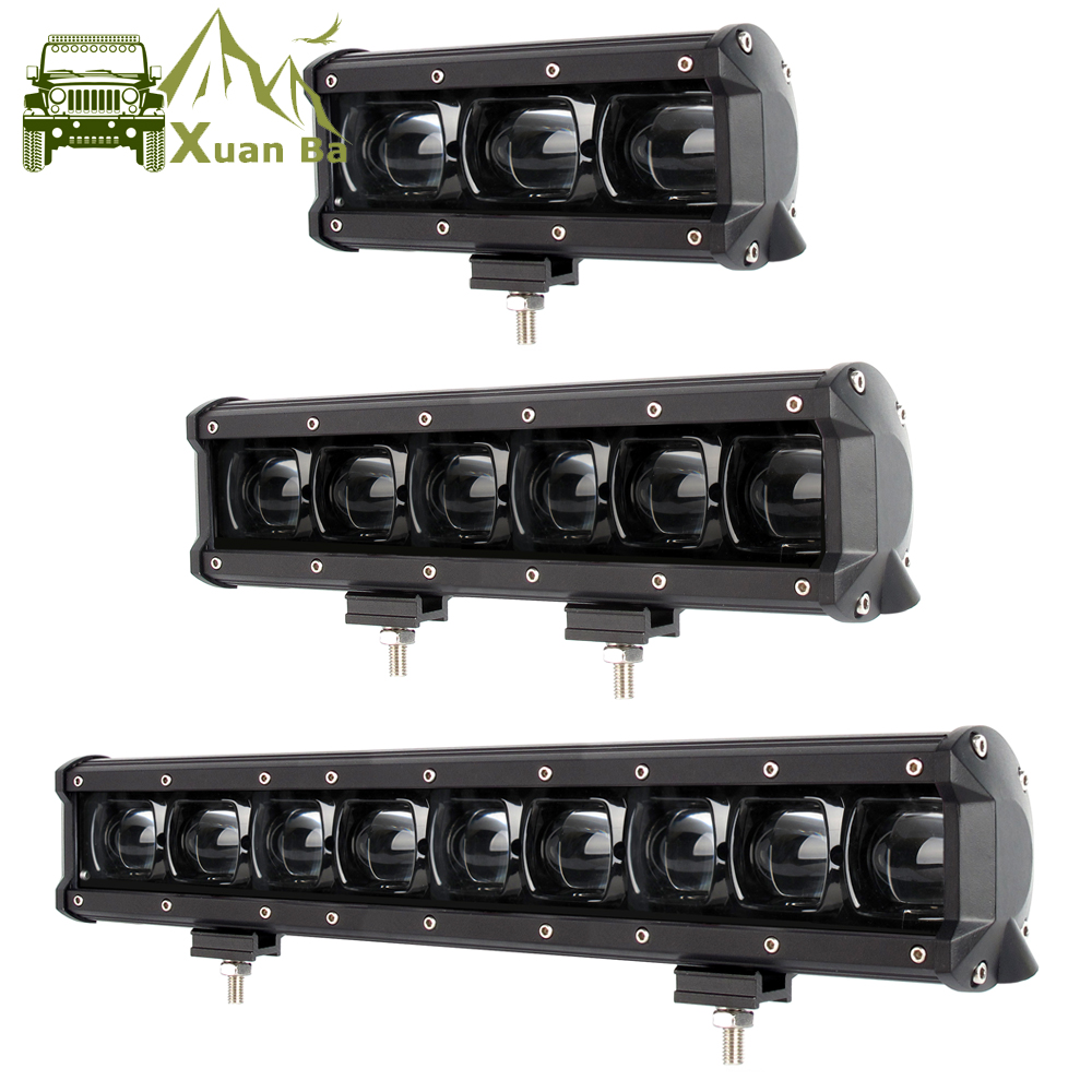 6D Lens Led Light Bar Off Road For 4x4 Offroad 4WD ATV UAZ Trucks Tractor Boat 12V 24V Driving Work Barra Lights Car Retrofit