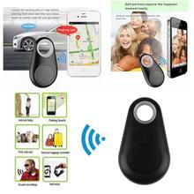 """Домашние животные GPS трекер Smart Mini функция """"антипотеря Водонепроницаемый Bluetooth Tracer собака Кот ключей бумажник сумка Детские трекеры Finder обор..."""