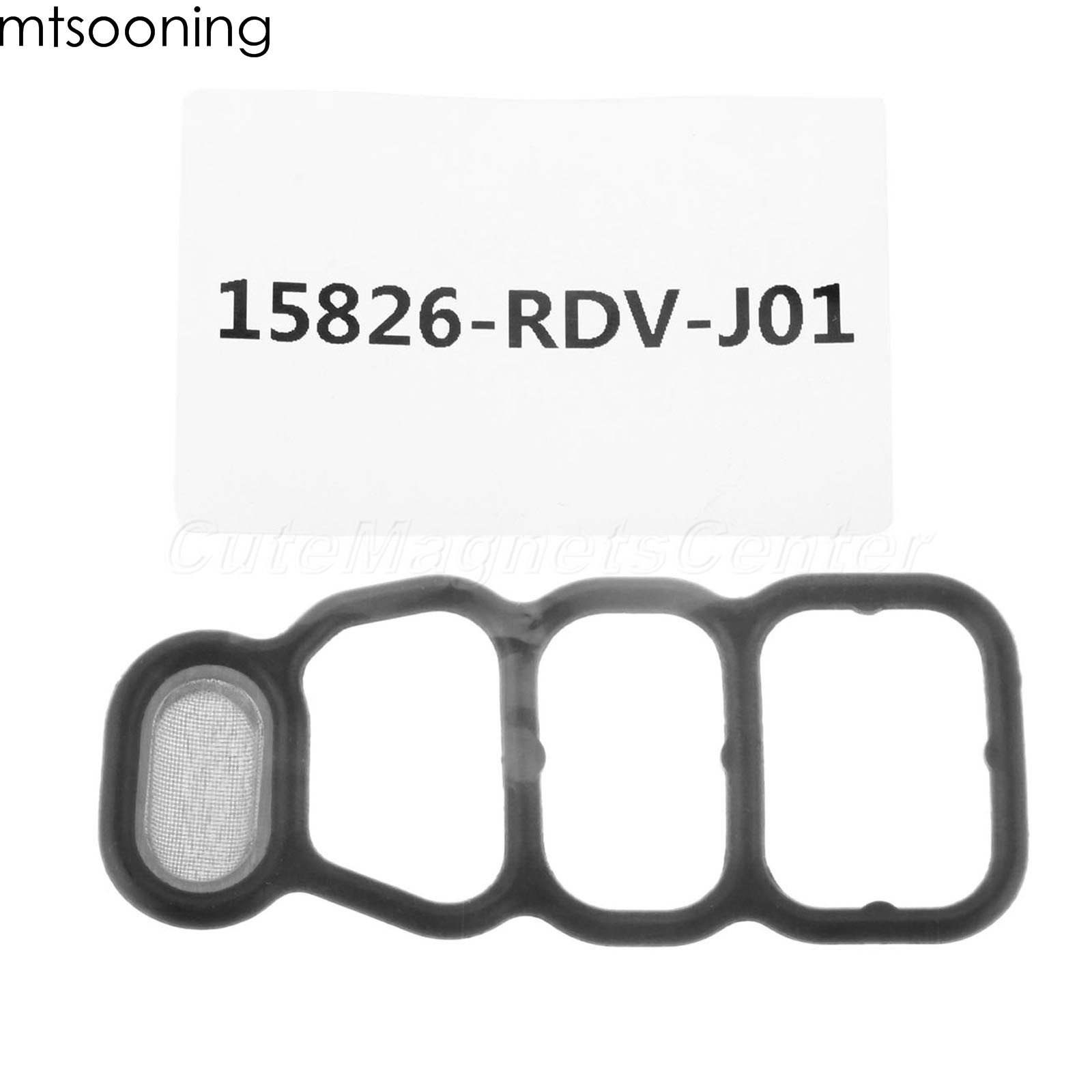 Car Solenoid Valve Spool Gasket VTEC Filter Screen Seal For Honda Odyssey Pilot 2WD Accord 2006 2007 15826-RDV-J01