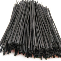 Difusor de óleo de fragrância de reposição  varas de substituição em rattan de bambu 100*3.0mm com 230 peças