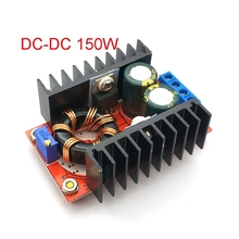 150W DC DC Boost ממיר Step Up מודול ספק כוח 10 32V כדי 12 35V 10A מחשב נייד מתח תשלום לוח לarduino
