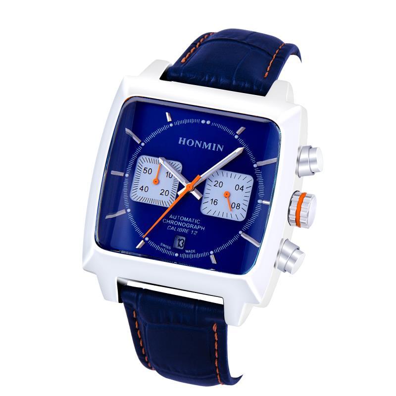 Luxury Top Brand Sport Watch Men Waterproof Quartz Black Leather Military Wrist Watch Men Army Clock Male relojes hombre hodinky