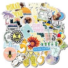 50 PCS Vsco 스티커 팩 Kawaii 소녀에 대 한 노트북 냉장고 전화 스케이트 보드 가방 방수 스티커