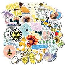 50 шт Vsco стикер s пакет для Kawaii Девушка вещи на ноутбук холодильник телефон чемодан для скейтборда водонепроницаемый стикер