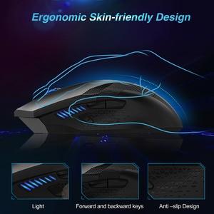 Image 3 - TeckNet 7000DPI программируемая игровая мышь s Профессиональная геймерская мышь RAPTOR Pro Регулировка уровня 8 DPI геймерская мышь для ПК ноутбука