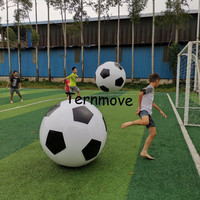 advertising inflatable football balloon sport ball PVC Cheap Price Event Display helium balloon large sky balloons