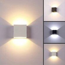 Светодиодный настенный светильник Освещение в помещении Алюминий