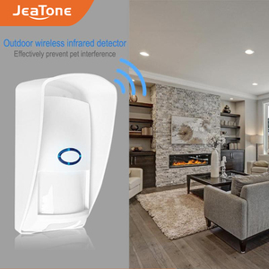 Image 2 - JeaTone 433Mhz Wireless PIR Sensor Infrared Outdoor Motion Detector with Pet Immune Waterproof for Home Security Alarm System