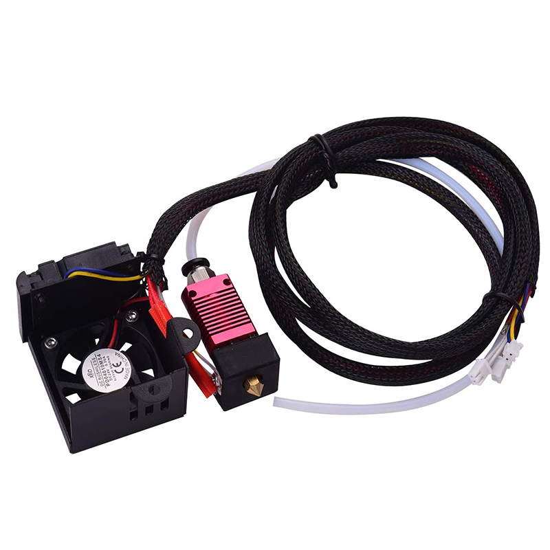 24V Assembled Hotend Extruder Kit with 0.4mm Nozzle Aluminum Heating Block for <font><b>Creality</b></font> <font><b>Ender</b></font> <font><b>3</b></font> <font><b>Ender</b></font> <font><b>3</b></font> <font><b>Pro</b></font> <font><b>3D</b></font> Printer image