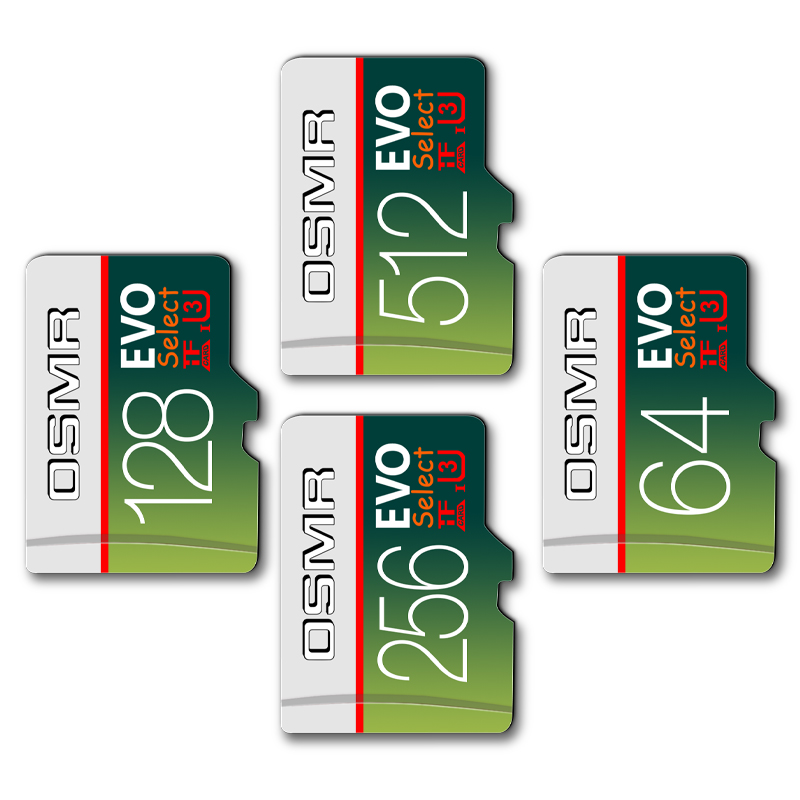 High Speed Memory For MP3/4 CLASS 10 32 Gb Memory Card 128GB Microsd Flash Memory Card 256gb 64gb Carte Micro Sd Card 512GB Card