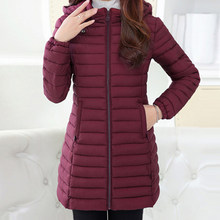 Winter Jacket Women 2018 Winter And Autumn Wear High Quality Parkas Winter Jackets Outwear Women Long Coats Plus Size(China)