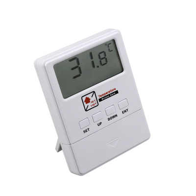 Wireless temperature detector with LCD display 1527 chips work with GSM alarm system