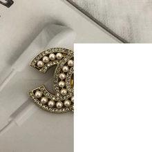 Broches rétro en cristal et strass pour femmes, grande broche en perles, 2021