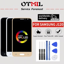 4.5AMOLED  For SAMSUNG Galaxy J120 LCD DisplayTouch Touch Screen Digitizer For SAMSUNG J1 2016 Display J120F J120H J120M LCD #1 hot selling j120 lcd for samsung galaxy j1 2016 j120f sm j120f j120h lcd display touch screen digitizer for samsung j1 j120f
