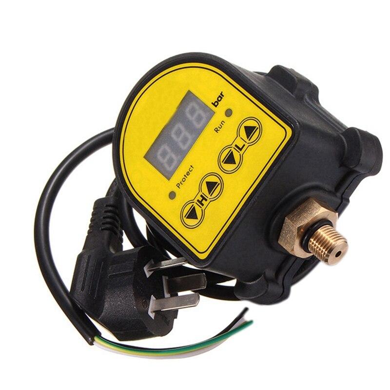 Image 5 - Цифровой контроллер автоматического воздушного насоса водяного масла компрессор переключатель регулятора давления для водяного насоса вкл/выкл Au PlugВыключатели    АлиЭкспресс