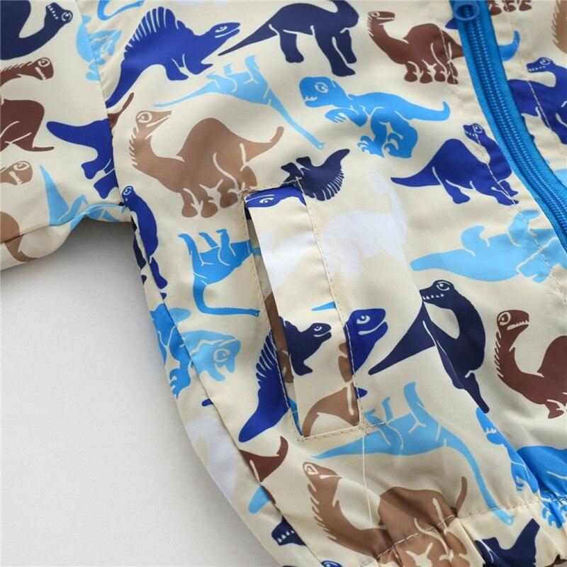 CROAL CHERIE  Fall Outerwear Coats Boys Kids Girls Jacket Cute Dinosaur Children Clothing Casual Baby Spring Jacket 80-130cm (18)