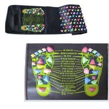 Health Care Acupressure Mat Pad Massageador Reflexology Walk Stone Foot Leg Pain Relieve Relief Walk Mat Massager Tools 20