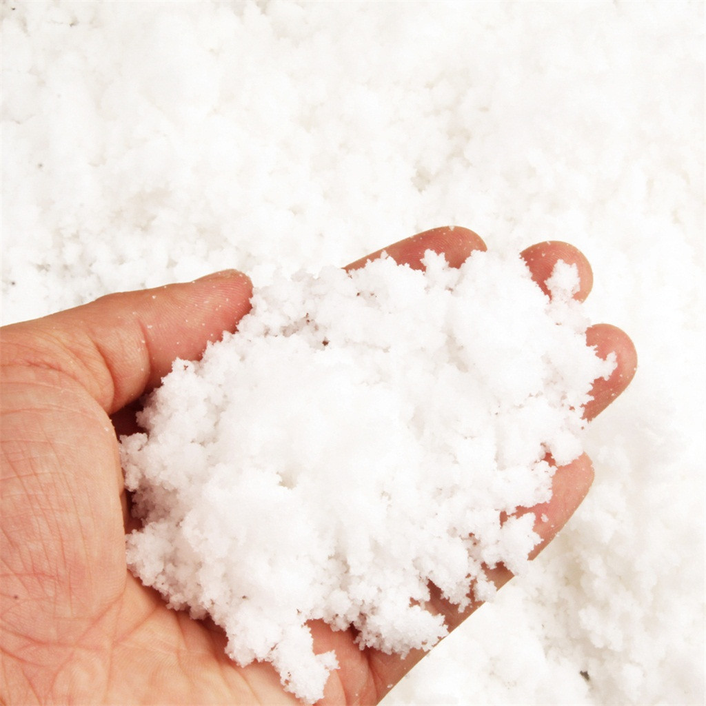 Instant Snow Powder Fluffy Absorbant Magic Prop Artificial Snow Kid Toy Winter Snow Photography Props Simlation Cloud Slime #A