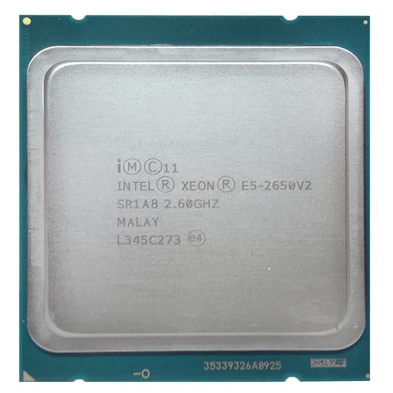 Intel Xeon E5 2650V2 E5-2650 v2 CPU 2.6GHz/20MB/22nm/95W/Socket LGA 2011 CPU