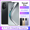 New Arrival Nowa8 Pro Smartphone 64/256/512GB Andriod Phones 6.7Inch Full HD Cellphone 6800mAh 5G Smart Phone SUpport TF Card 1