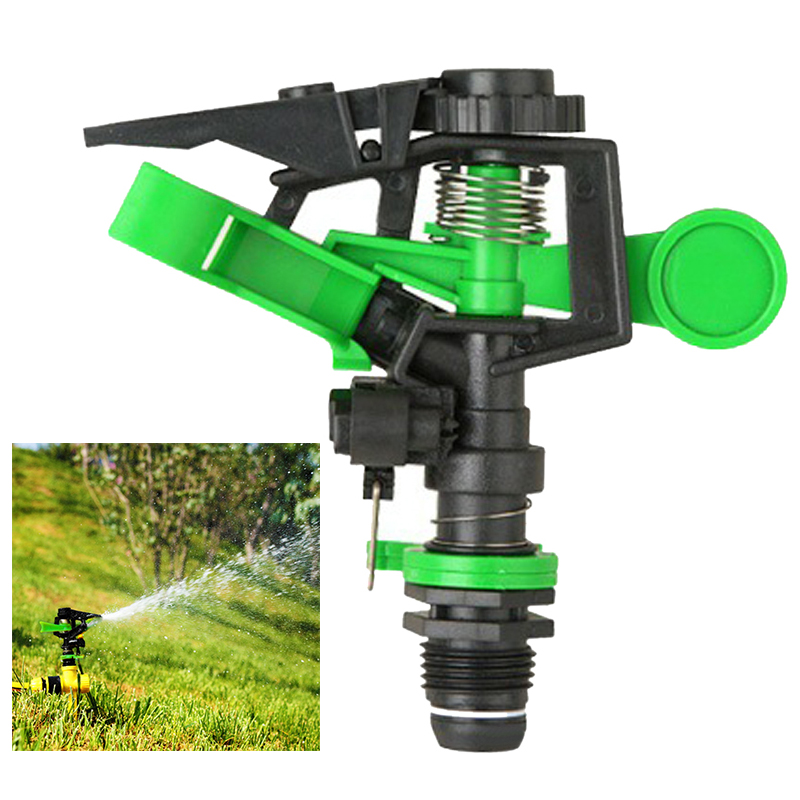 Garden Lawn Irrigation Tools Garden Sprinkler 360 Degree Adjustable Irrigation Sprinkler Garden Greening Rotatable Sprayer