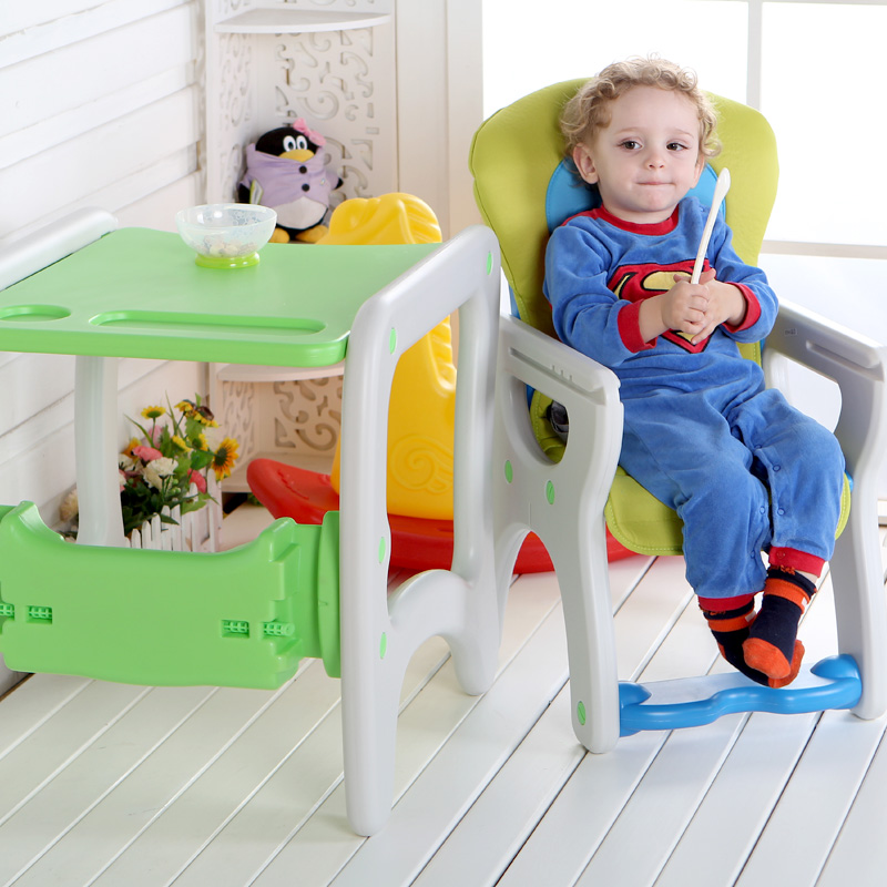 Children's Dining Chair Multi-functional Plastic Child Portable Bb Stool Baby Can Detachable