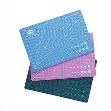 Tapete de corte de PVC A4 A5, almohadilla de Patchwork, almohadilla cortada, herramientas de retales, herramienta de bricolaje Manual, tapete de corte de cuero