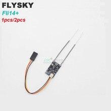 1/2pcs /1.7g Fli14+ 2.4G 14CH FLYSKY AFHDS 2A IBUS RSSI Mini Receiver for Betaflight FLYSKY I6 I6X I6S Micro FPV Drones