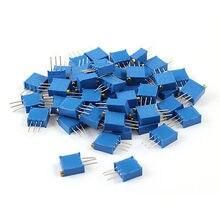 3296W-203 640V 1W 20K Ом Потенциометр многооборотный синий 50 шт
