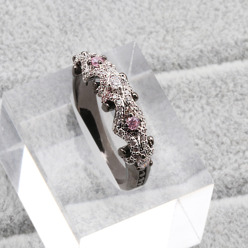 Silver Color 925 Jewelry Diamond Ring For Women Hip-hop Anillos De Bizuteria Gemstone Wedding Birthstone Jewelry Diamond Ring