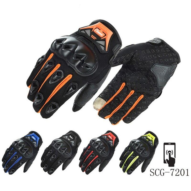 Protective Full Finger Gloves Racing Motorcycle Bike Motocross Breathable M XXL