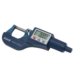 Image 5 - Shahe micrómetro Digital micrón de 0 25/25 50/50 75/100mm, micrómetro electrónico exterior, calibrador de herramientas digitales de 0.001mm