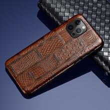 LANGSIDI אופנה עור מקרה עבור Iphone 12 פרו עמיד הלם חזרה כיסוי עבור iphone 12 פרו מקסימום 12 מיני xr xs מקסימום 7 8 בתוספת fundas