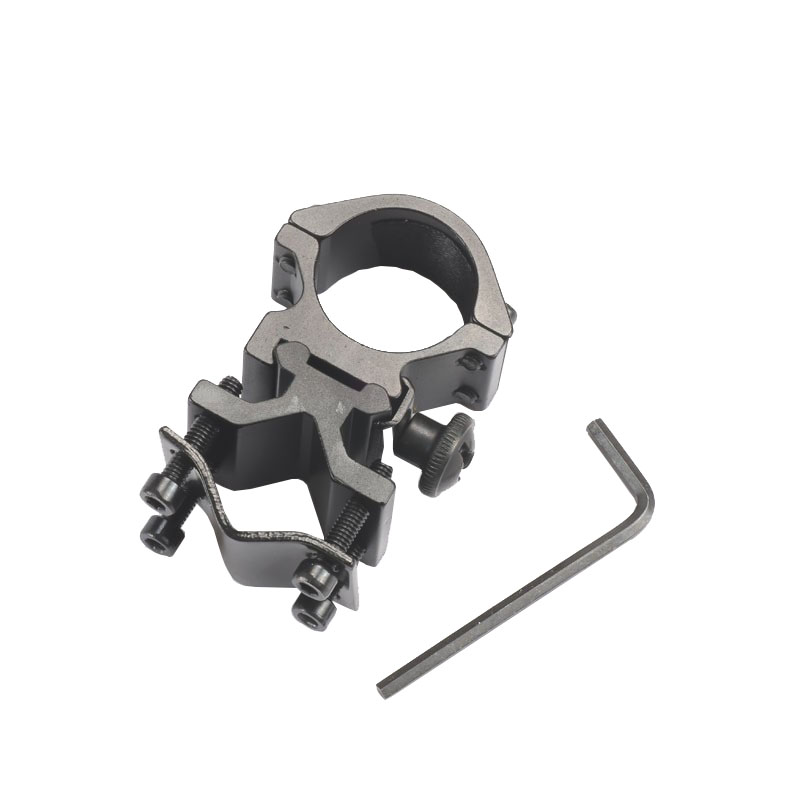 "1/"" 25mm Ring Universal Barrel Mount for Tactical Flashlight Torch Laser Sight"