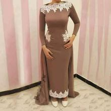 vestido novia Lace Appliques Ankle Length Long Formal Godmother Wedding Party Gown 2018 Mother of the Bride Dresses