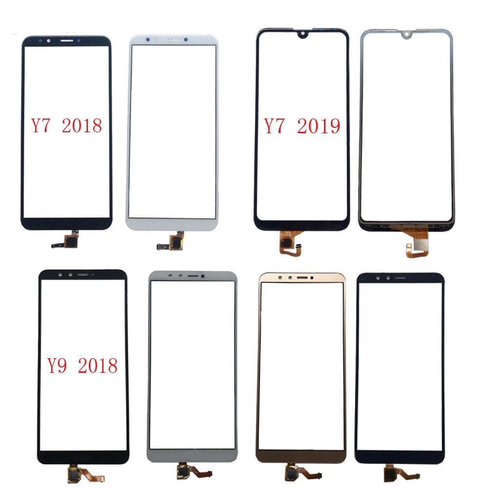 Touch Screen Für HuaWei Y7 2018 Y7 Prime 2018 Y7 2019 Y9 2018 Digitizer Panel Front Glas Für HuaWei Y7 2019 Touchscreen