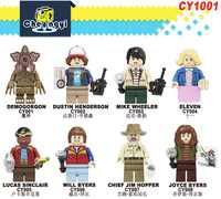 Set Verkauf Bausteine Fremden Dinge Demogorgon Dustin Henderson Mike Elf Lucas Wird Figuren Für Kinder Spielzeug CY1001
