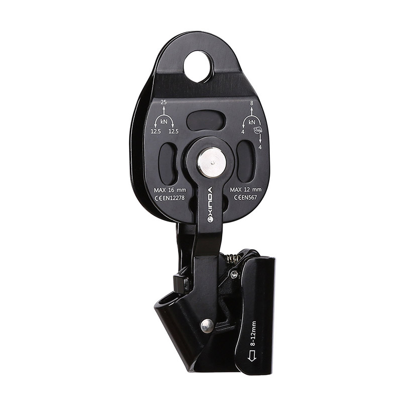 Ascenders Heavy Lifting Devices Up Ascender Upward Pulley Lifter Aluminum Magnesium Alloy Anti falling Safety Rescue Ascending|Climbing Accessories| |  - title=