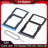 Sim Card Tray For Huawei P30 lite Sim Card Holder For Huawei Nova 4e Reader Holder Micro SD Adapter Connector Replacement Parts