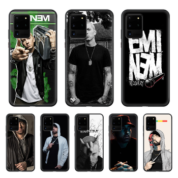 Eminem 8 Mile Rap God Phone Case cover hull For SamSung Galaxy S 5 6 7 8 9 10 20 Edge Plus E Lite Ultra black hoesjes fashion image