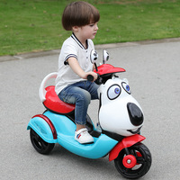 Children's electric car motorcycle 1 6 years old baby electric tricycle kids car rechargeable can sit