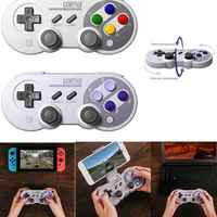BEESCLOVER 8Bitdo SF30Pro SN30Pro Drahtlose Bluetooth Gamepad Joystick Game-Controller Für Nintendo Schalter Android Windows d40