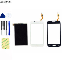 LCD Display Panel Monitor Module + Touch Screen Digitizer Glas Sensor Voor Samsung Galaxy Core Duos i8260 i8262(China)