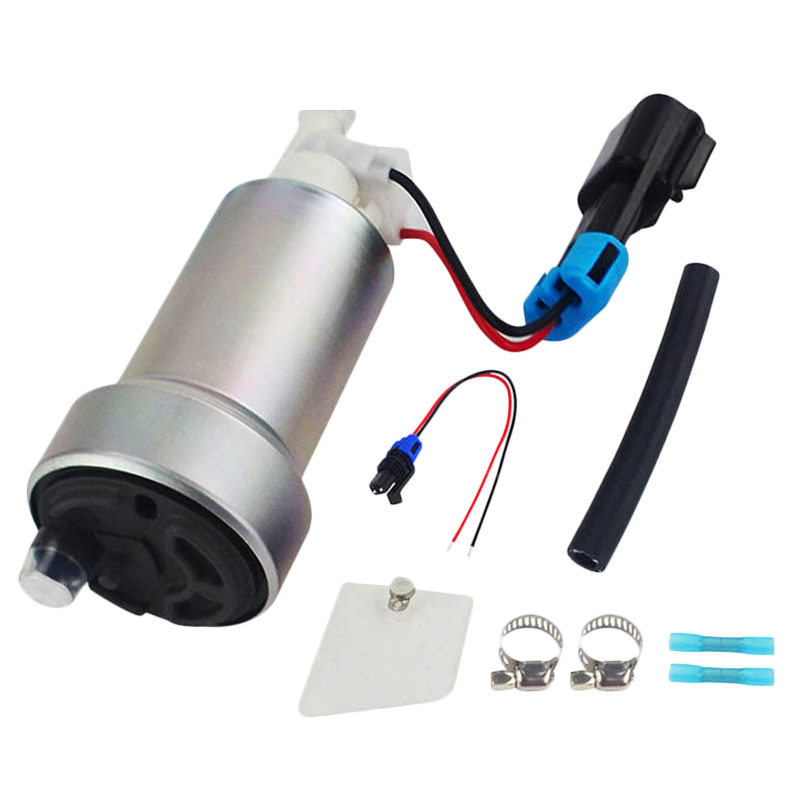 New 450Lph High Performance Fuel Pump Install Kit F90000267 For E85 title=